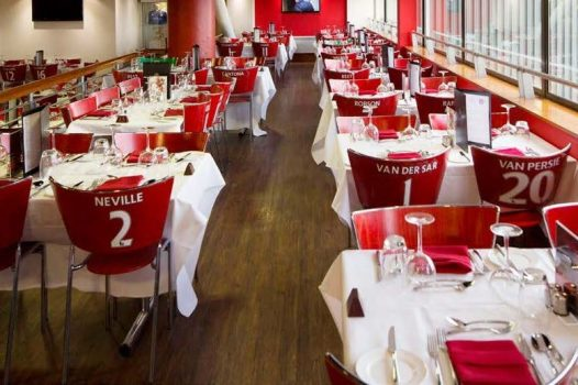 Red Café at Manchester United Football Club © Manchester United Football