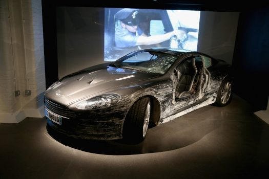 The Bond in Motion Exhibition at the London Film Museum is the largest official collection of original James Bond vehicles (Photo by Chris Jackson/Getty Images for London Film Museum)