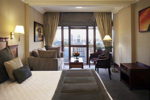 Bedroom at The Grange City Hotel
