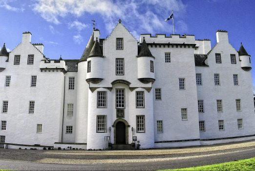 Front Panorama of Blair Castle