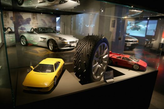 The Bond in Motion Exhibition at the London Film Museum is the largest official collection of original Bond vehicles (Photo by Chris Jackson/Getty Images for London Film Museum)