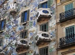 Casa Batllo, Barcelona Spanish Artists