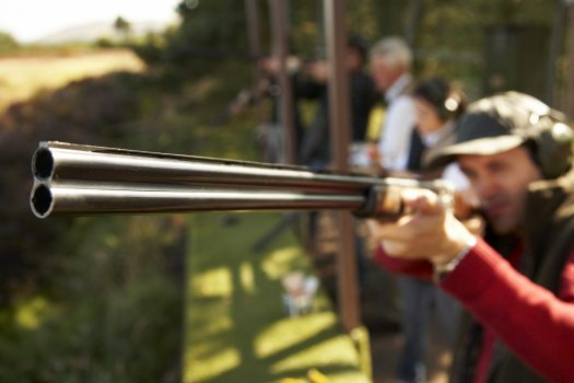 Clay Pigeon Shooting at Gleneagles Hotel ©Courtesy of Gleneagles