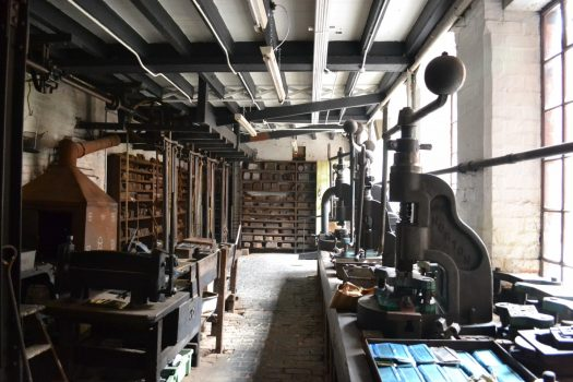 Coffin Works, Birmingham - Newman Brothers Museum-Stamp Room (NCN)