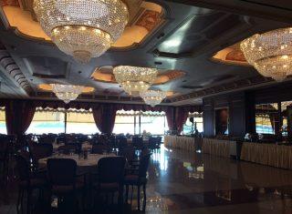 Dining room, Grand Hotel Dino, Lake Maggiore