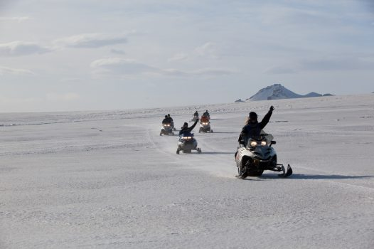 Snowmobiling in Iceland © HL Adventure