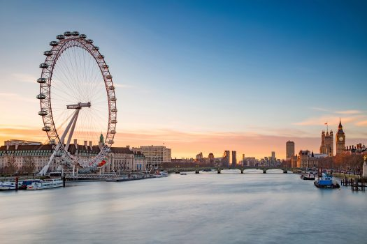London Eye and Westminster, London © visitlondon.com, Jon Reid EXPIRES 16.9.2021