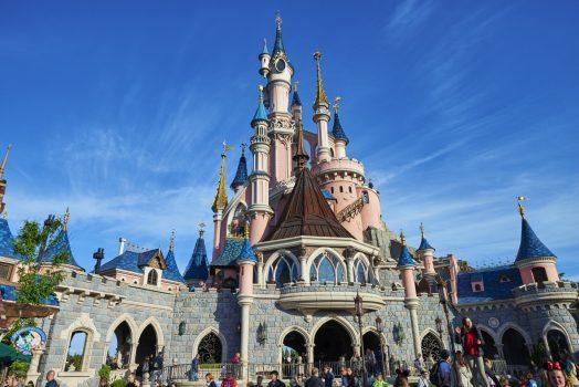 Sleeping Beauty Castle ©Disney Team building at Disneyland® Paris