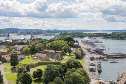 Norway, Oslo, Akershus Fortress and the harbour, incentive travel, MICE, © VISITOSLODidrick Stenersen