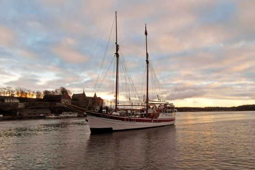 Norway, Oslo, The schooner Helena enters the harbour, incentive travel, MICE © VISITOSLOTord Baklund