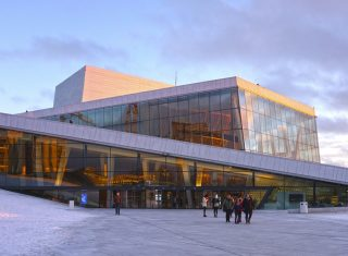 Norway, Oslo, Winter sun at the Opera, incentive travel, MICE © VISITOSLOTord Baklund