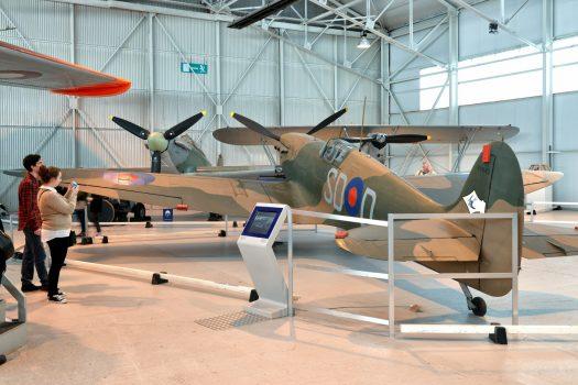 RAF Cosford Museum, Shropshire - Spitfire