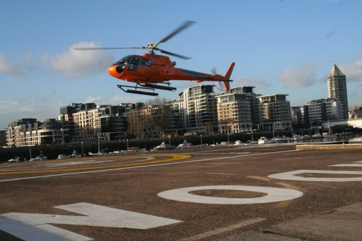 The London Helicopter, London - TLH_New_Paint_Scheme ©Courtesy of The London Helicopter