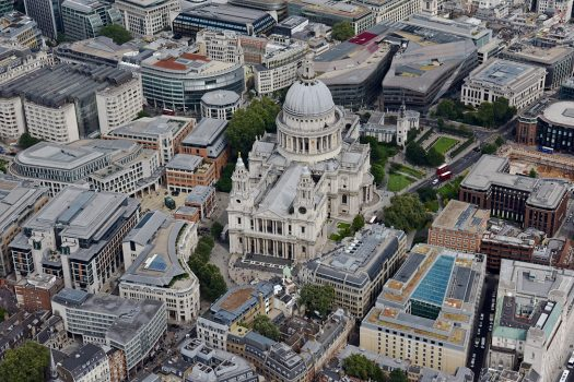The London Helicopter, London - TLH_St Pauls ©Courtesy of The London Helicopter