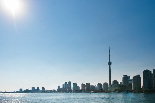 Canada, Ontario, Toronto , Skyline, CN Tower, Waterfront, Incentive trip ©Destination-Canada
