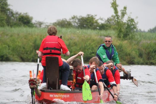 Dragon boat and scavenger challenge © Team Activity Group LTD